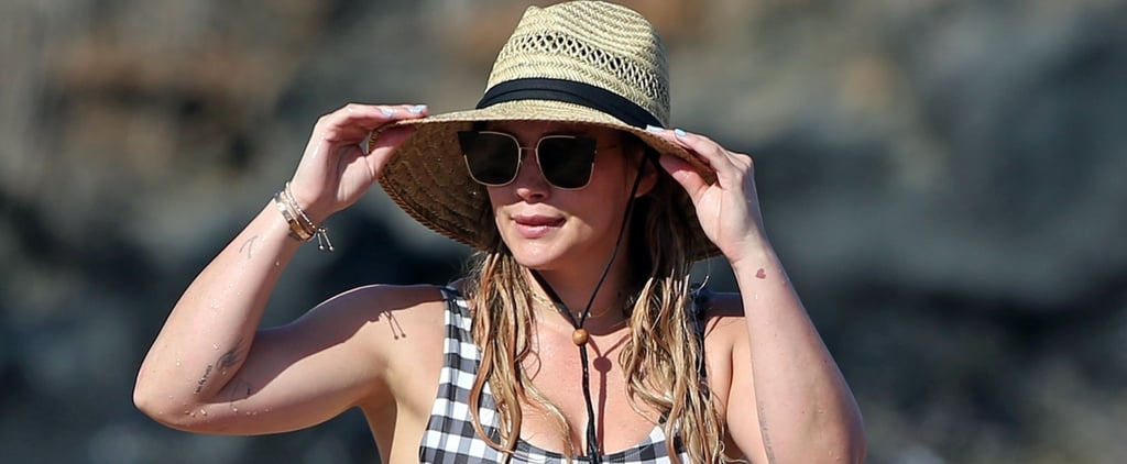 You'll Fall in Love With Hilary Duff's Gingham One-Piece the Second You See It