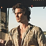 John B Wearing One of His Classic Button-Downs