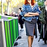 Taylor Tomasi Hill at Paris Fashion Week Spring 2017