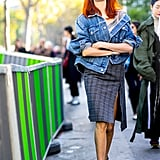 Taylor Tomasi Hill at Paris Fashion Week