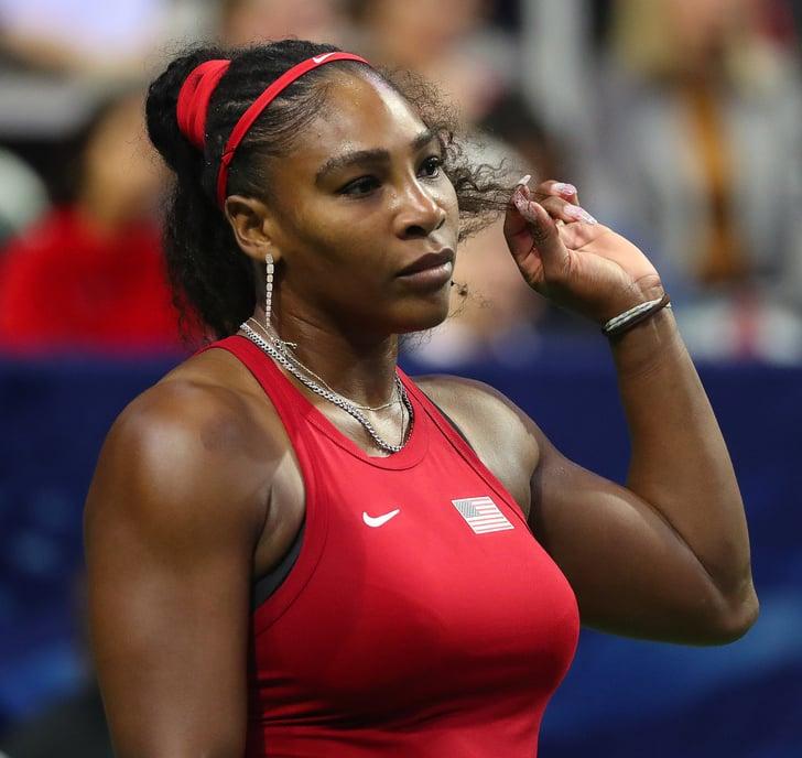 Den 40-år gammal 175 cm lång Serena Williams i 2021