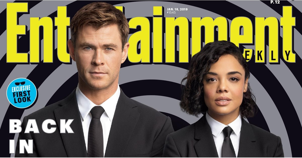 Men In Black International Entertainment Weekly Cover 2019