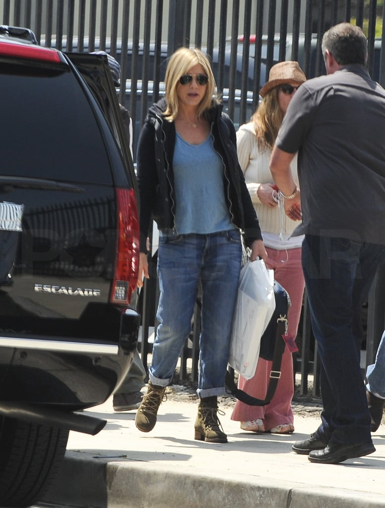See Jennifer Aniston Directing on the Set of Her New Movie!