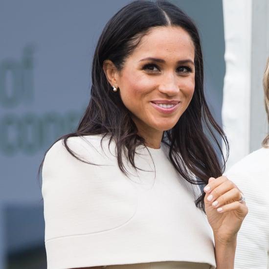 Meghan Markle Wearing Queen Elizabeth II Earrings June 2018