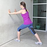 Calves: Wall Calf Stretch