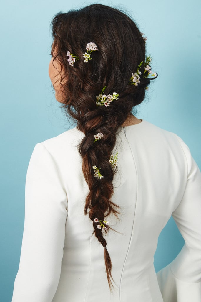 The Flower Piece: Wax Flower Hair Accents