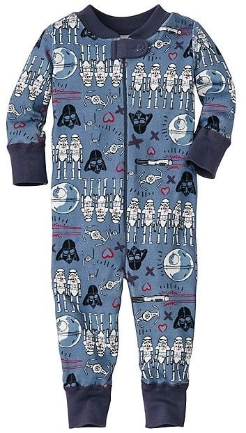8df0d4e2128a Star Wars Valentine s Day Baby Sleeper in Pure Organic Cotton