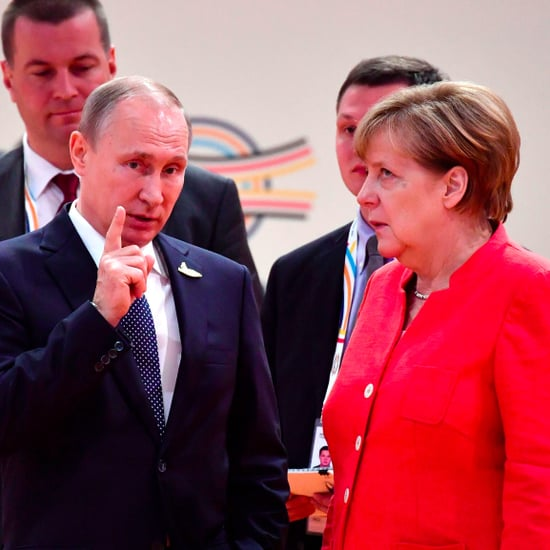 Angela Merkel Eye Roll at G20 Summit 2017