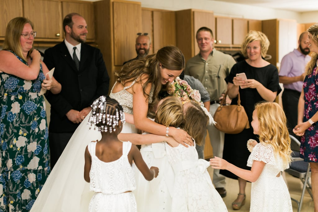 "For many couples, inviting children to your wedding is a big dilemma, but for Indiana teacher Marielle Slagel Keller, it was a no-brainer. She wanted her students at her wedding and she wanted them to be the flower girls and ring bearers. Marielle teaches a combined kindergarten and first grade class and couldn't imagine her special day without her 20 special students.  ""They mean the world to me,"" Marielle said, according to the Indianapolis Public Schools website. ""The kids and their families were part of the whole wedding planning process with me and gave me so much support along the way. They are a huge part of who I am and it would not have felt right to not have them there."" The students all wore white and walked down the aisle as Marielle married Mike Keller back in June. Not only did her students have a special part in her wedding, but she made sure to give them a little private celebration before the reception. The kids and their parents had a separate cupcake party after saying ""I do"" which was filled with hugs, tears, and of course, a lot of cupcakes.      Related:                                                                                                           What You Really Need to Know Before You Take Your Kids to a Wedding               ""We wanted a time to celebrate with just us, the kids, and their families,"" Marielle told the HuffPost. ""Right after we signed the marriage license, we rushed to go see them. It was a moment I had been looking forward to for quite a while. There was a huge group hug and a lot of tears."" Read on to see the heartwarming photos from Marielle and Mike's wedding and prepare to melt over the most adorable group of flower girls and ring bearers."