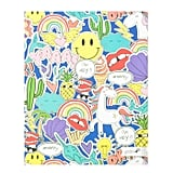 Yoobi  Blue Jumbo Doodle Folder