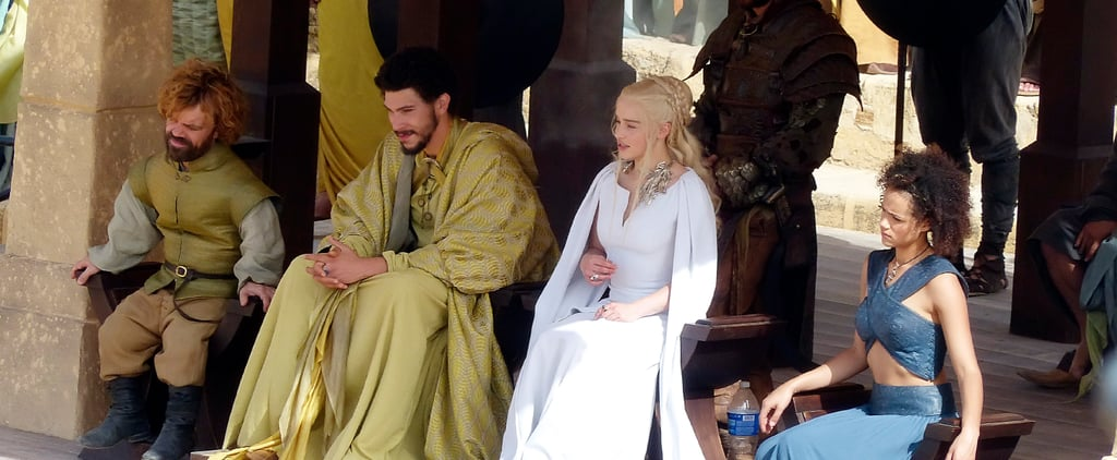 Do These Spoilery Game of Thrones Set Pictures Give Away a Character Death?
