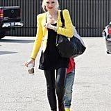 Gwen Stefani went on a trip to the skating rink with her sons in LA.