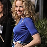 Rachel McAdams struck a pose at an LA premiere.