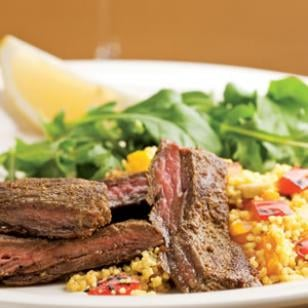 Easy Moroccan-Inspired Steak and Couscous Recipe