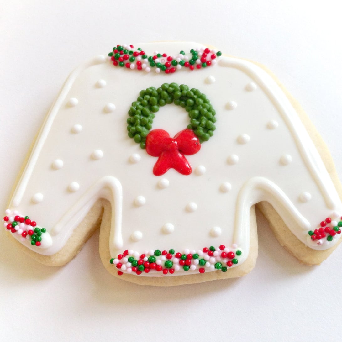 Ugly Christmas Sweater Cookies | POPSUGAR Food