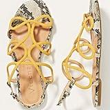Vicenza Serena Beaded Slingback Sandals