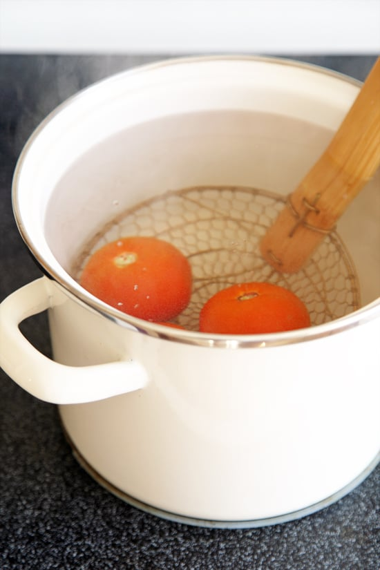 Simmer the Tomatoes