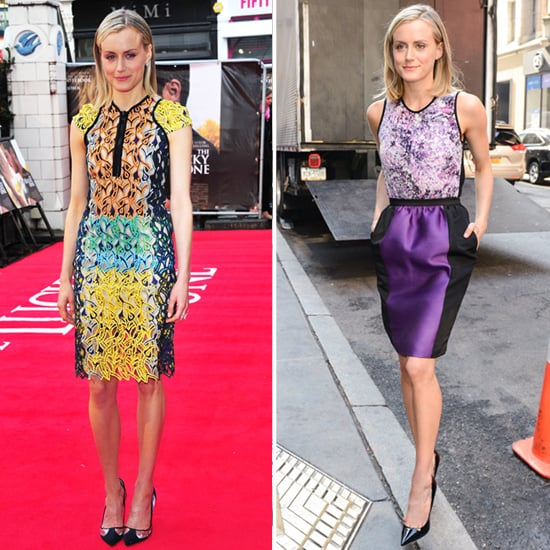 Taylor Schilling's The Lucky One Looks — 13 Equally Knockout Structured Frocks