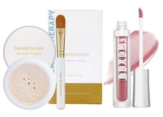 Monday Giveaway! RareMinerals Blemish Therapy and Bare Escentuals Buxom Lips