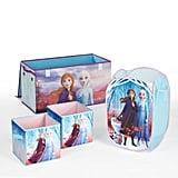 Disney Frozen 2 Kids Anna and Elsa Whole Room Solution Toy Storage Set