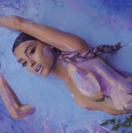 Ariana Grande Wants to Release a Lush Bath Bomb