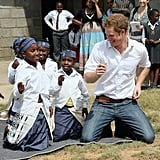 Harry Dances and Giggles in Africa