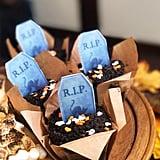 Graveyard Chocolate Cupcakes