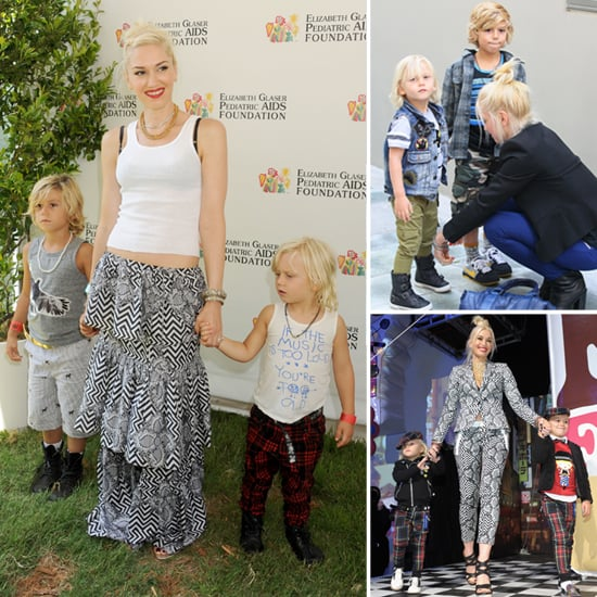 Kingston and Zuma Rossdale's Rockin' Good Looks