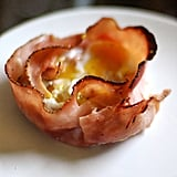 Feed a crowd with ham and egg cups.