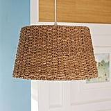 Pottery Barn Kids Woven Pendant Drum Light ($99)