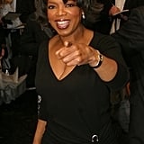 Oprah made an appearance at the opening of 2004's A Raisin in the Sun.