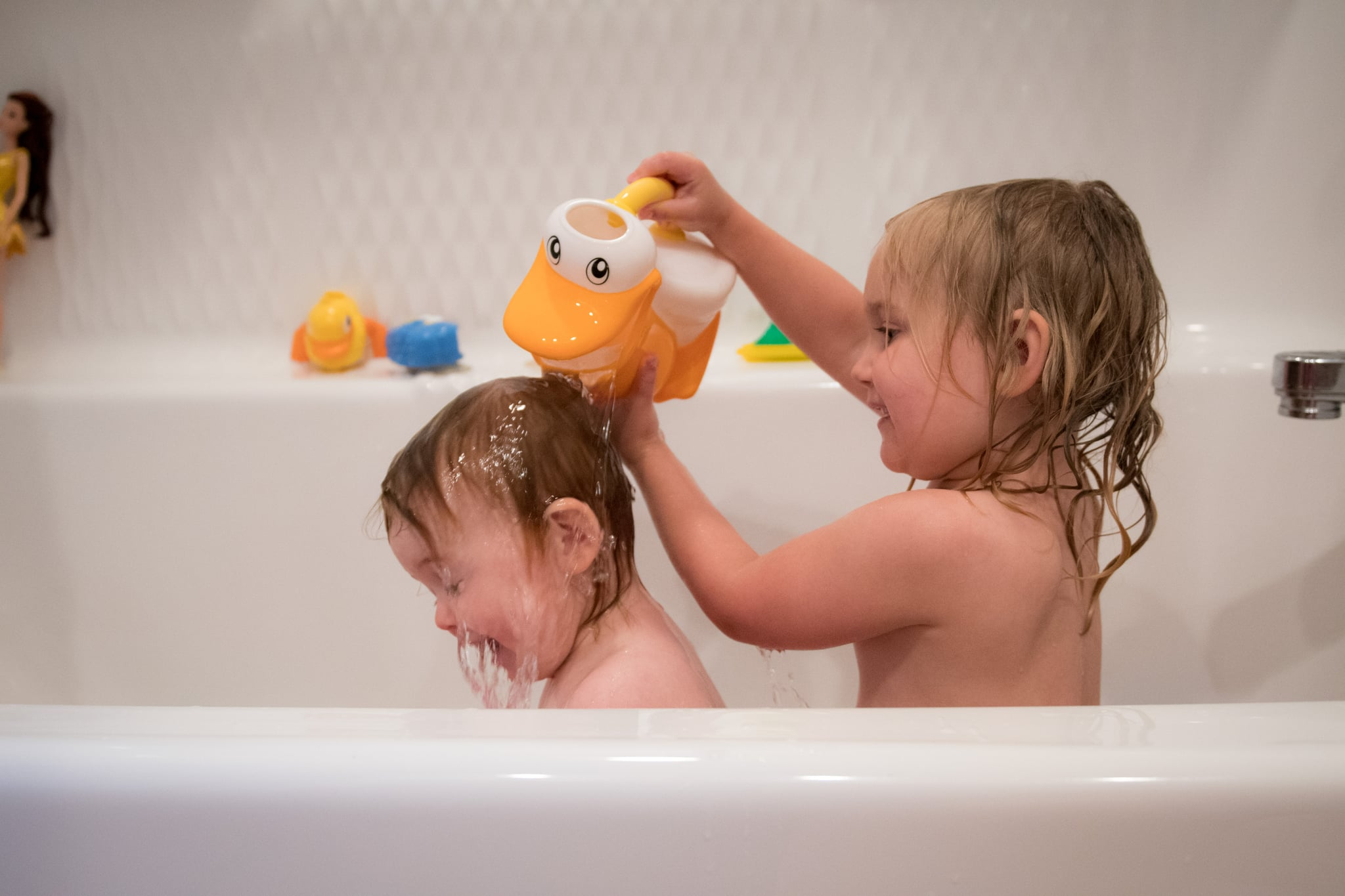 how to make kids bath time easier popsugar family rh popsugar com