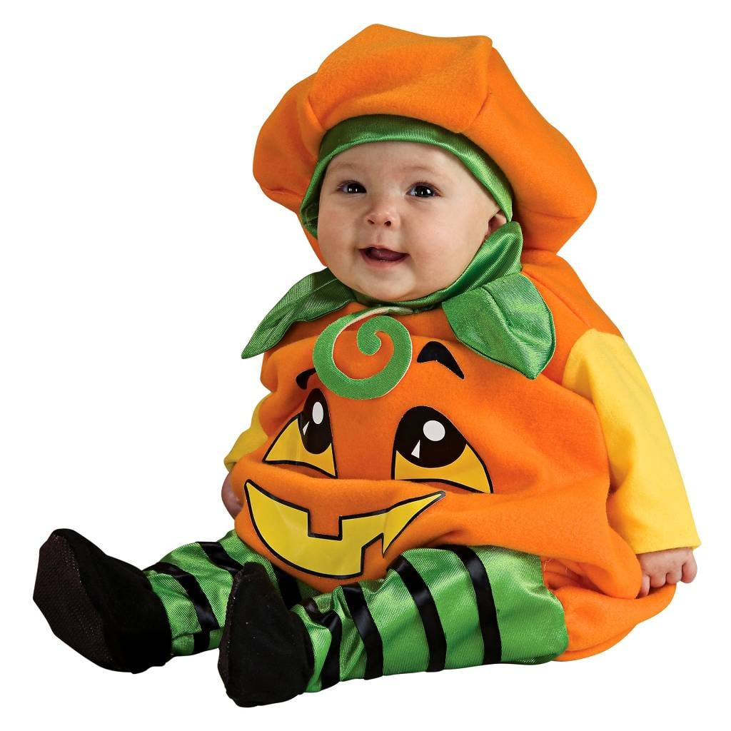 Infant Pumpkin Jumper Costume 6-12M