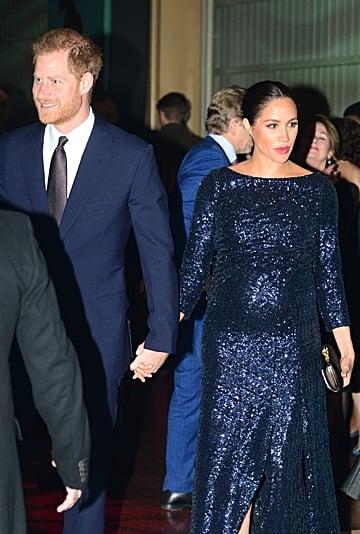 Meghan Markle Wearing Princess Diana's Bracelet January 2019