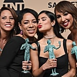 Pictured: Jackie Cruz, Diane Guerrero, Elizabeth Rodriguez, and Selenis Leyva