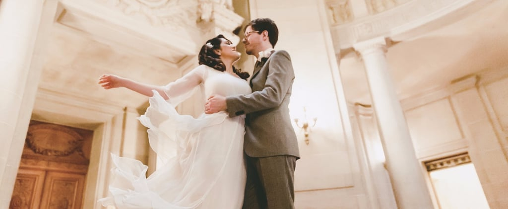 This Vintage City Hall Wedding Proves Intimate Ceremonies Can Be Even More Romantic