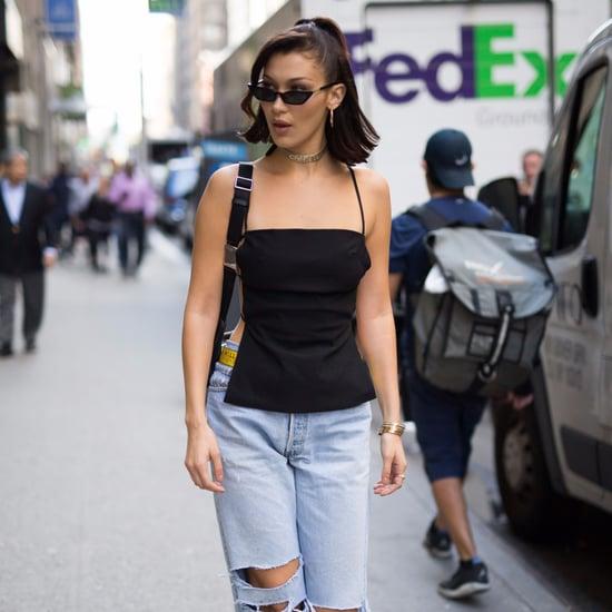 Bella Hadid's Sneaker Style