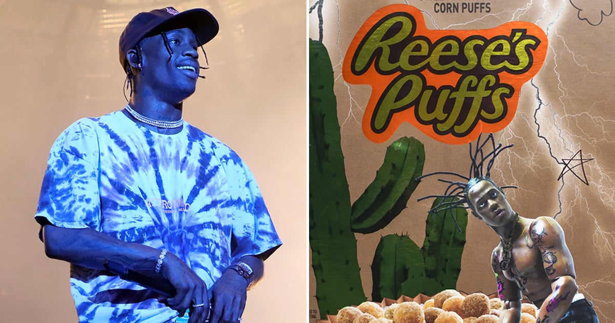 f4c623f0c261 Travis Scott Loves Reese's Puffs So Much, He Designed His Own  Special-Edition Box