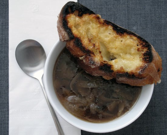 Fast french onion soup popsugar food my new favorite weeknight meal is a soup recipe that comes together in minutes its a very abbreviated version of french onion soup which traditionally sisterspd