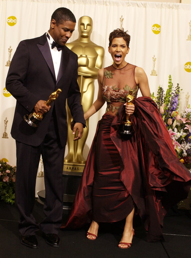 Denzel Washington and Halle Berry, 2002