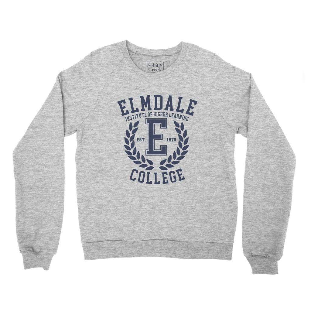 Elmdale College Crest Logo Sweater