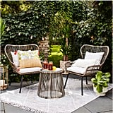 Latigo 3-Piece Rattan Patio Chat Set