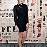 Alexandra Richards DJed the Party Under the Stars in a black sheath.
