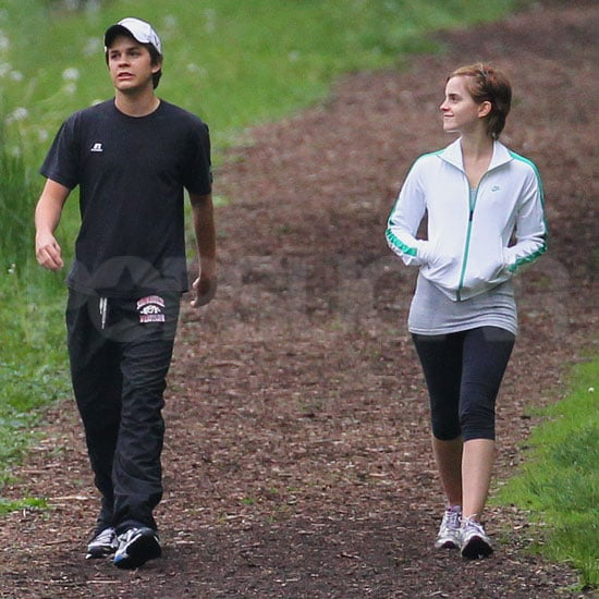 Emma Watson Pictures on a Walk in Pittsburgh
