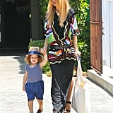 Rachel Zoe took her son, Skyler Berman, on a shopping trip in LA.