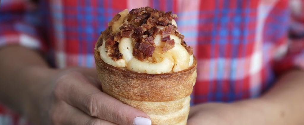 Disneyland's Macaroni and Cheese Cones Recipe