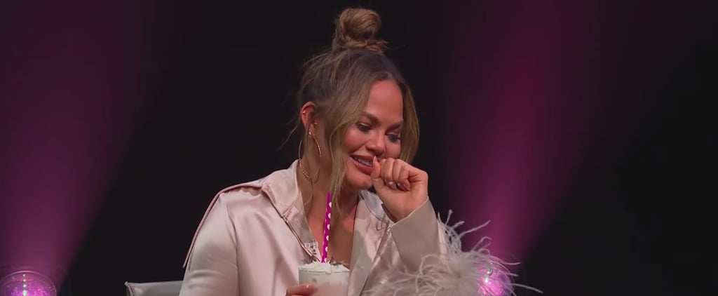 Watch Chrissy Teigen's Spill Your Guts on the Late Late Show