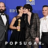 Brett Gelman, Sian Clifford, Phoebe Waller-Bridge, and Andrew Scott at the 2020 Golden Globes
