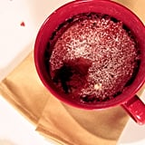 Microwaveable Red Velvet Mug Cake For 2