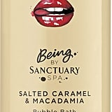 Being Salted Caramel & Macadamia Bubble Bath